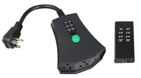 A photo of the One Speed Remote Control unit for QA-Deluxe fans.