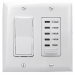 Photo of Wall Switch & Timer to control QA-Deluxe Whole House Fan